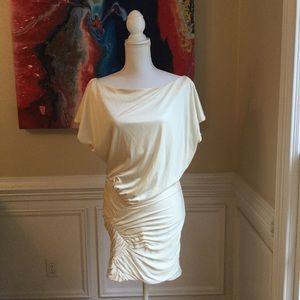 FOLEY + CORINNA Winter White Mini Dress Sz. XS EUC